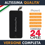 Apple iPhone 6 - A1549 A1586 A1589 - Display Completo Tasto Home Fotocamera Nero