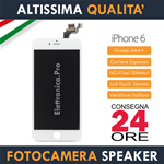 Apple iPhone 6 - 6G - Display Retina con Fotocamera - Speaker - Sensori - Bianco