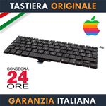 "Tastiera Originale Apple MacBook Pro 13"" Pollici A1278 Italiana Retroilluminata"