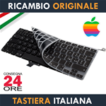 "Tastiera Originale Apple MacBook Pro 13"" Pollici A1278-A1279-A1280 Italiana + Protezione Ultra Slim"