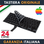 "Tastiera Originale Apple MacBook Air 13"" Pollici A1369 e A1466 Italiana + Protezione Ultra Slim"