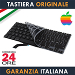 "Tastiera Originale Apple MacBook Pro 13"" Pollici Retina A1425 Italiana + Protezione Ultra Slim"