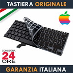 "Tastiera Originale Apple MacBook Pro 13"" Pollici A1502 Italiana + Protezione Ultra Slim"